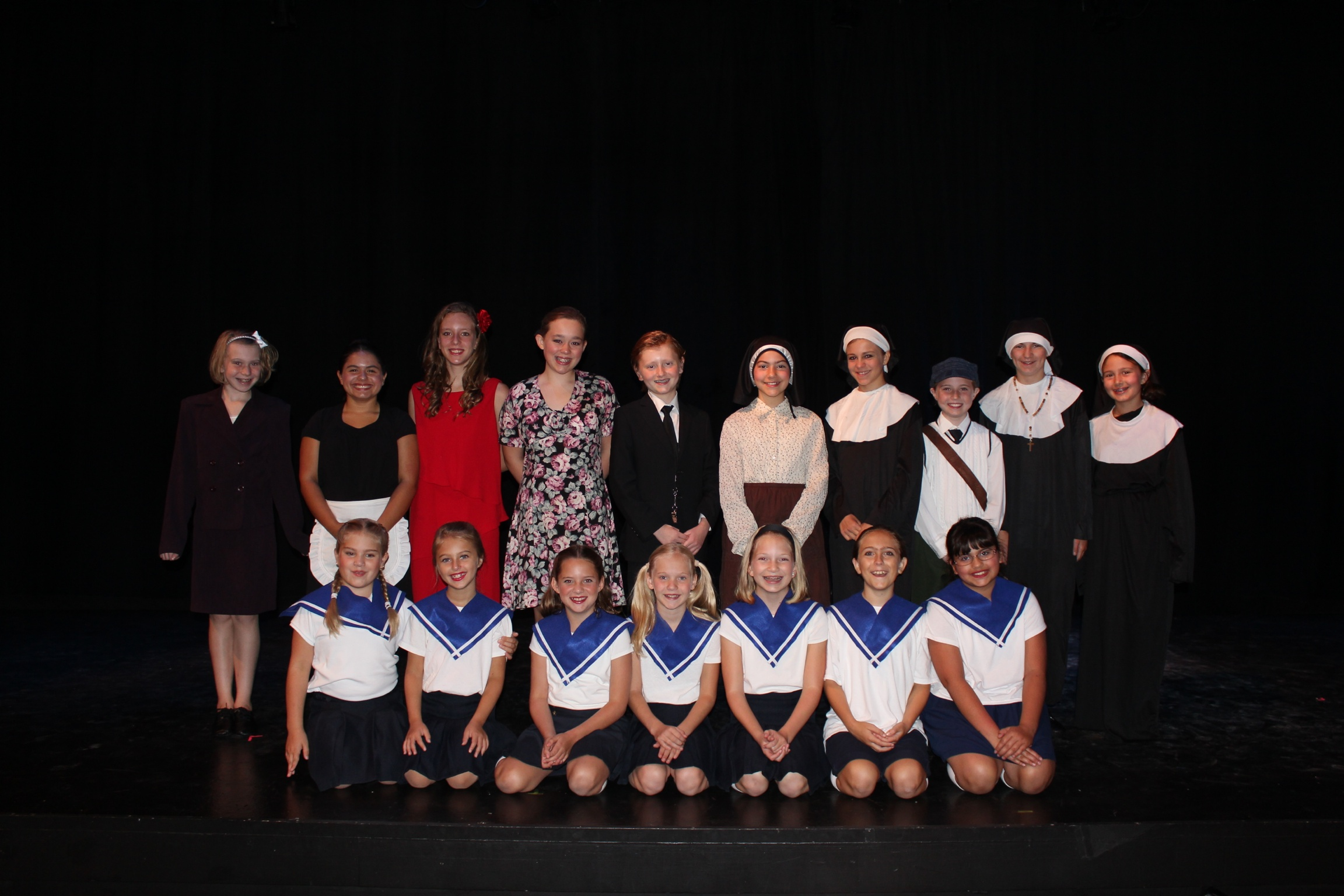 Live Sound of Music Cast 2013